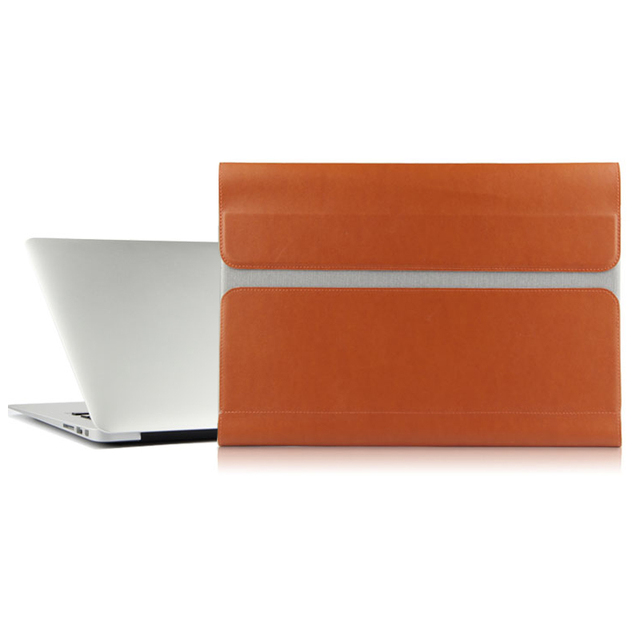 reputable site d8831 aa2a2 US $27.31 5% OFF|Case Sleeve For Huawei MateBook X 13 inch Laptops Bag  leather File pocket Holster Computer package matebookx Covers laptop  case-in ...