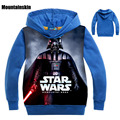 Star Wars New Fashion Boys Hoodies Sport Kids Sweatshirts Spring 2-9Y Children's Cartoon Print Outerwear Boys Cotton Tops SC747