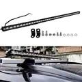 45 pulgadas 126 W Super Delgado Barra de luz LED de una sola fila Punto de inundación Combo haz de conducción todoterreno para SUV 4 4X4 ATV UTE barco Pickup SUV UTE