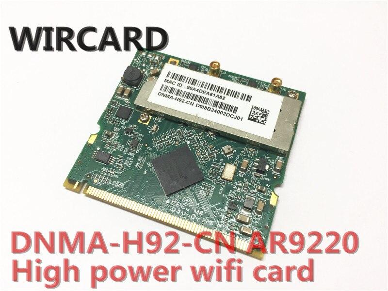 Unex DNMA-H92 High-power 802.11 A/b/g/n Dual-band Wifi 2x2 Mini-PCI Module  400mW (26 DBm) AR9220 300M 2.4G 5G WiFi Module