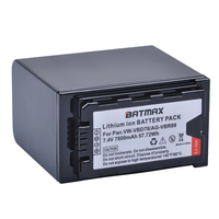 1 st 7800 mah VW VBD78 VBD78 Batterij voor Panasonic VW VBD58 VBD29 VBD58 VBR89 Batterijen AJ HPX260MC  HPX265MC  PX270  PX298  AG FC100|Digitale accu's|Consumentenelektronica -