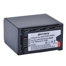 1Pc 7800mAh VW VBD78 VBD78 Battery for Panasonic VW VBD58 VBD29 VBD58 VBR89 Batteries AJ HPX260MC