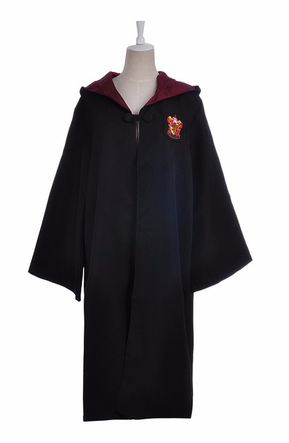 Robe Cape Cloak Gryffindor Slytherin Ravenclaw Hufflepuff Robe Cosplay Costumes Kids Adult for Harri Potter Cosplay 4
