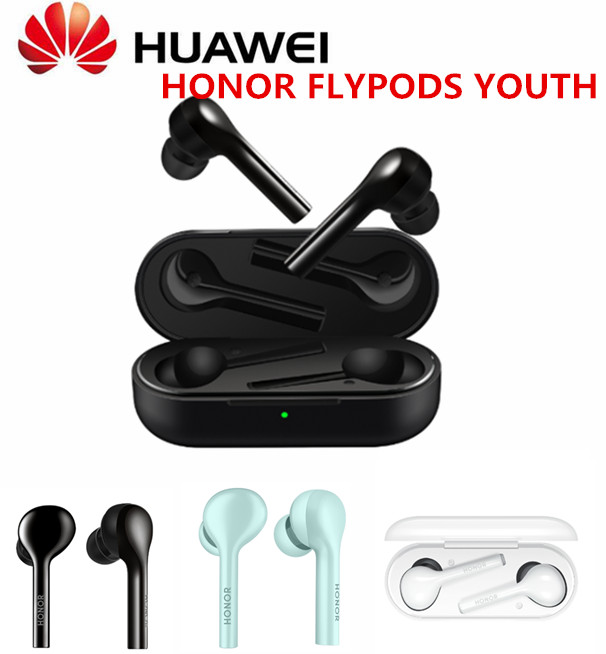 100 Original Huawei Honor FlyPods Youth Version Bluetooth Earphone TWS WirelessWith Mic Sport Fashion Touch Headset