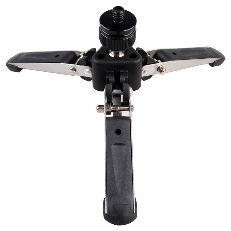 Universal Three Foot Support Stand Monopod Base for Tripod Head DSLR L2S5