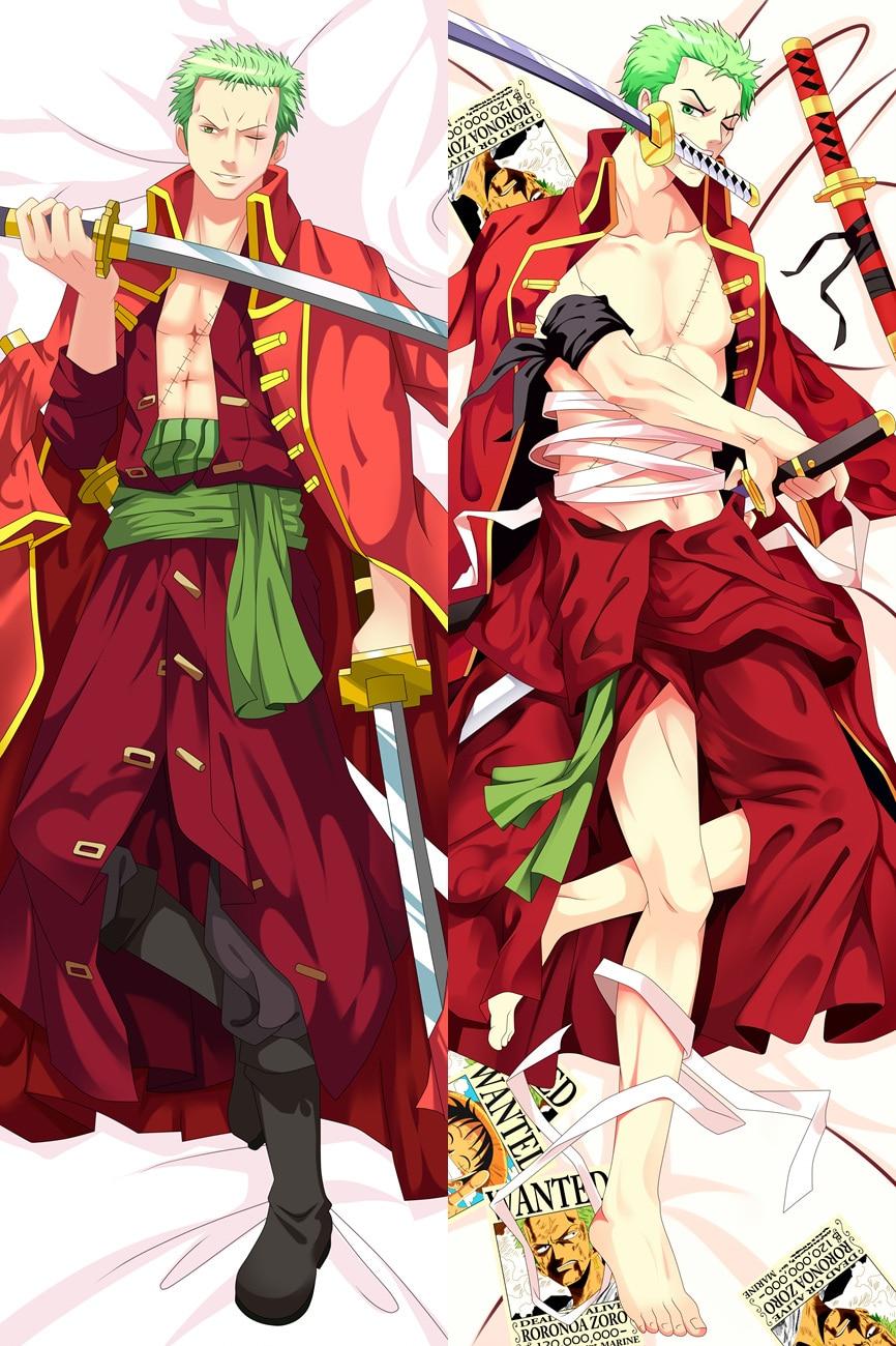 59/'Anime One Piece Portgas·D· Ace Dakimakura Pillow Case Cover Hugging Body Gift