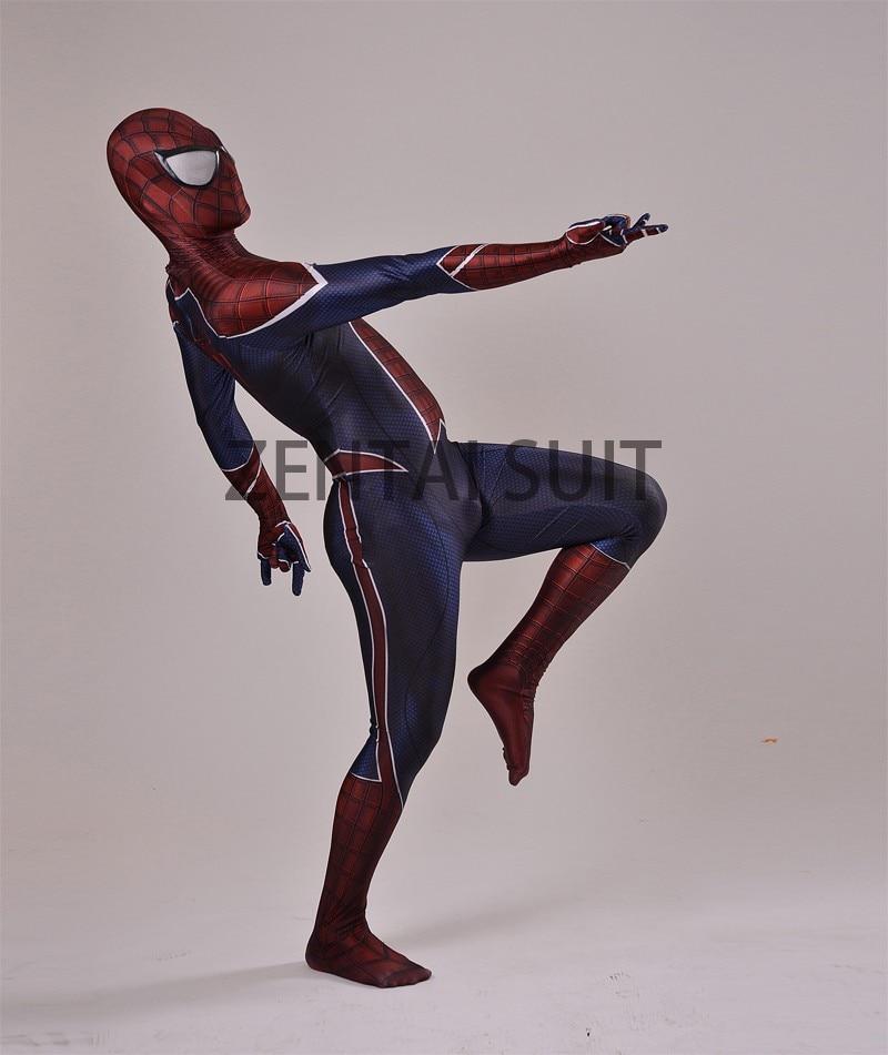 Spiderman կոստյումներ երեխաների համար / - Կարնավալային հագուստները - Լուսանկար 3