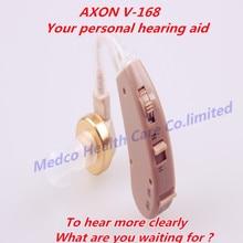 AXON V-168 BTE слуховой аппарат усилитель звука медицинский слуховой аппарат голосовой усилитель andifono para sordos