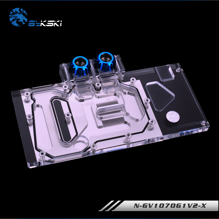 Image 2 - Bykski N GV1070G1V2 X Full Cover Graphics Card Water Cooling Block for Gigabyte GAMING GTX1070TI 1070 1060 G1-in Fans & Cooling from Computer & Office
