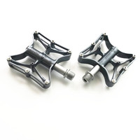 New Ultra Light Road Mountain Bike Pedal Chrome Molybdenum Steel Mtb4 Color Bike Bearing Pedal 1