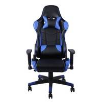 Adjustable Office Chair Ergonomic Gaming Chair High Back Faux Leather Computer With Headrest Lumbar Support Racing Gaming Chair