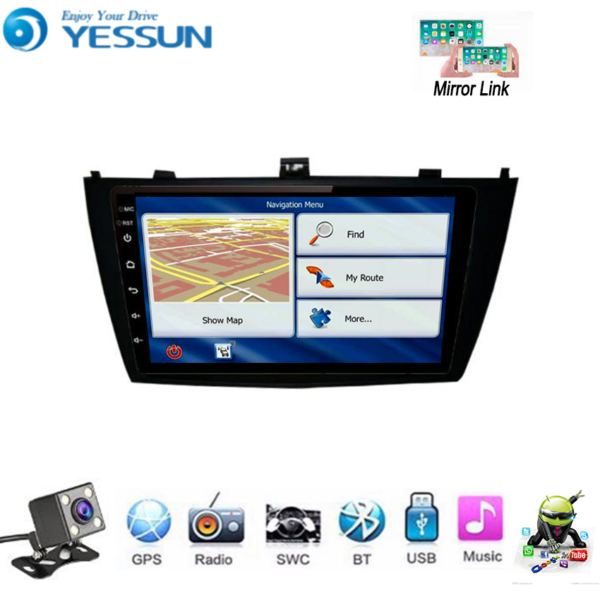 YESSUN For Toyota Avensis 2009~2015 Car Android Multimedia Player GPS Navigation Big Screen AUTO Radio Bluetooth