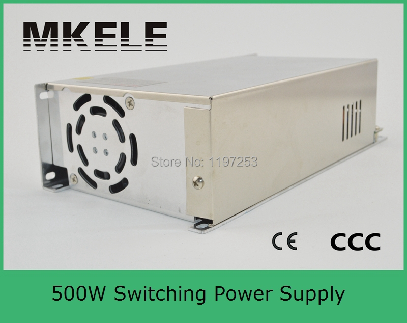 ФОТО customized 13.5v similar to Taiwan power supply 500w mean well S-500-13.5 36A single output type with metal enclosure