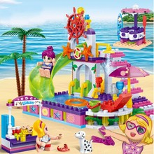 City Friend Princess Ariels Undersea Palace With Mermaid Ariel And Alana Building Blocks Compatible  Legoingly