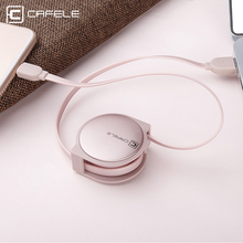 Cafele Retractable Micro USB Cable 1m Max Length for Android Micro USB Port Smart Phone Free to Adjust 5 Lengths(China)