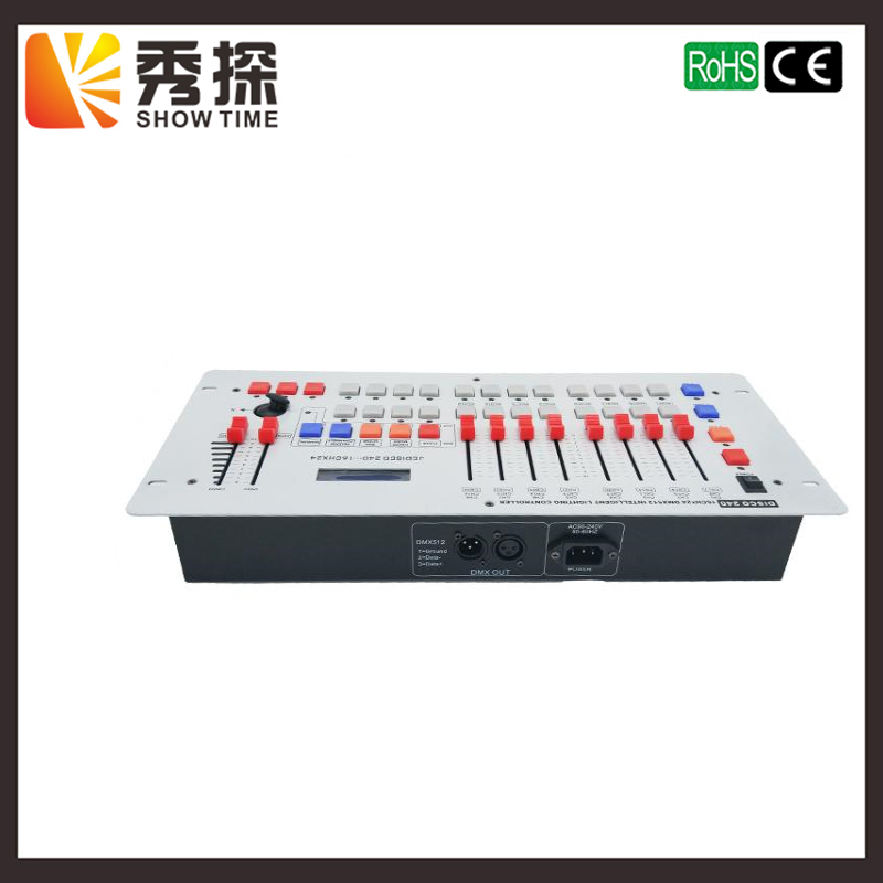 SHOW TIME Disco 240 DMX Controller Stage light DMX signal console for XLR-3 led par beam moving head DJ light stage effect light
