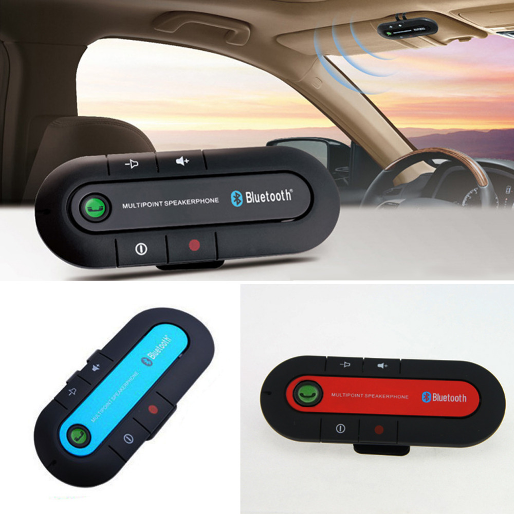 2017 slim bluetooth car kit universal wireless multipoint magnetic hands free bluetooth car kit. Black Bedroom Furniture Sets. Home Design Ideas