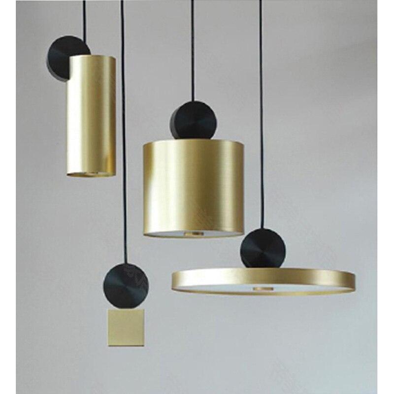 Grandes ventes d'éclairage de luxe pendentif lumière logement combiné cuivre villa à l'étranger haut de gamme clubs lampes suspendues ZA1129952