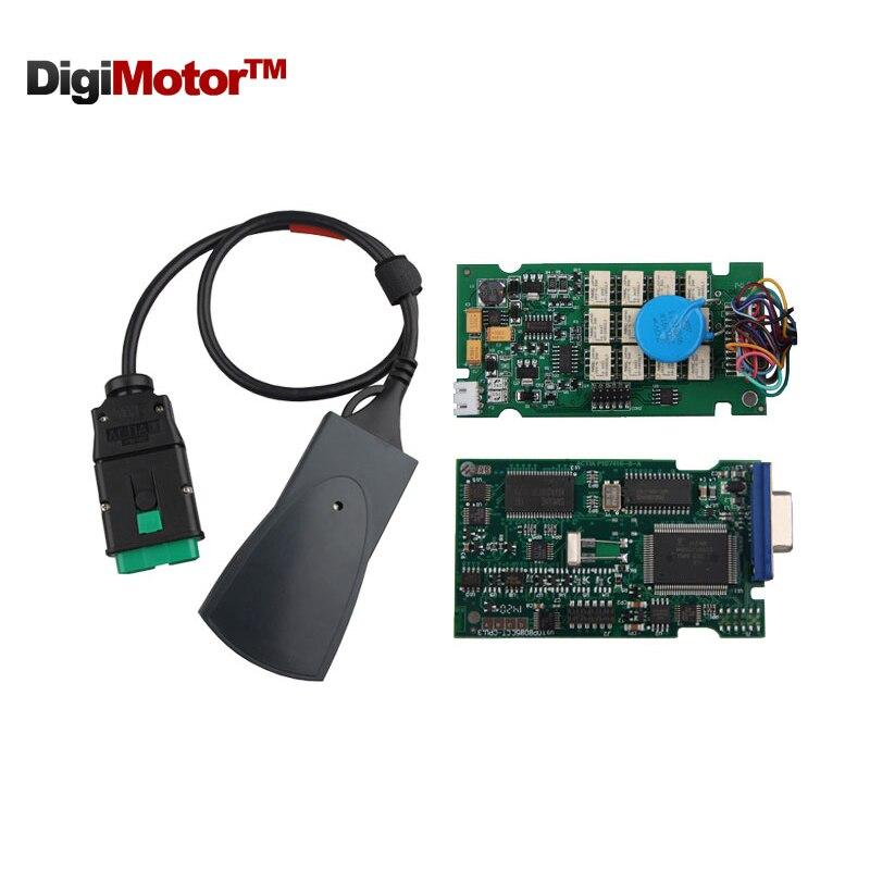 Цена за Lexia 3 Диагностический Инструмент Lexia3 PP2000 V48 Diagbox 7.65 OBD2/V25 Диагностический Инструмент Lexia3 Для Citroen и для Peugeot Автомобиль Инструменты