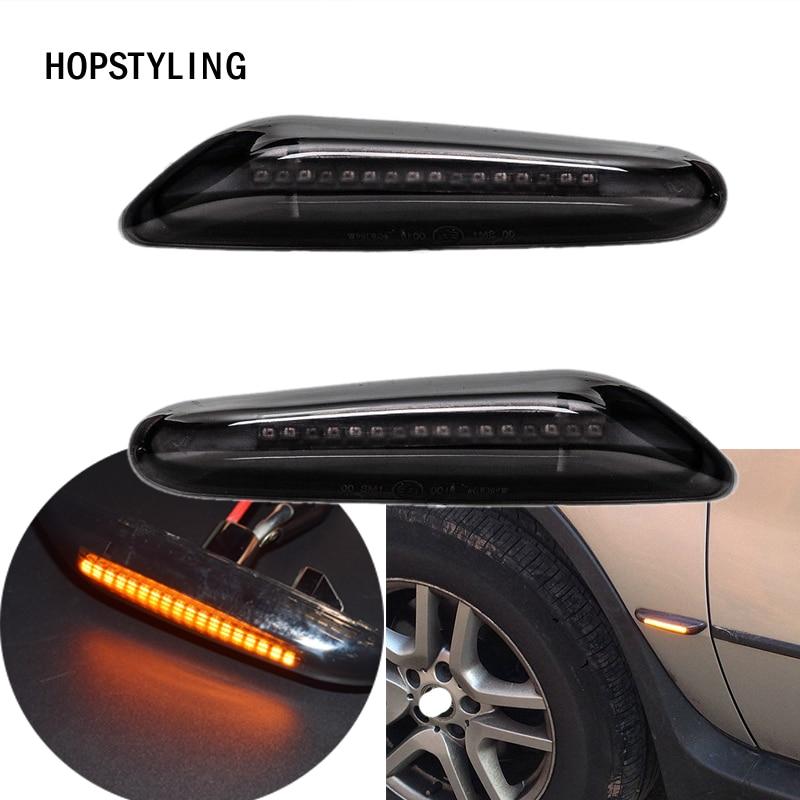 2 teile/los E87 E88 E92 E93 X1 E84 X3 E83 X5 E53 LED seite Marker licht blinker lampe für BMW E46 E36 E90 E91 E60 E61 E81 E82