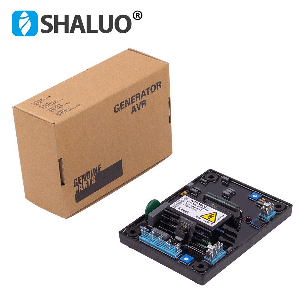 Высокое качество SX460 AVR бесщеточный генератор стабилизатор напряжения 110 В 220 в AVR макетная плата регулятор для генератора регулятор