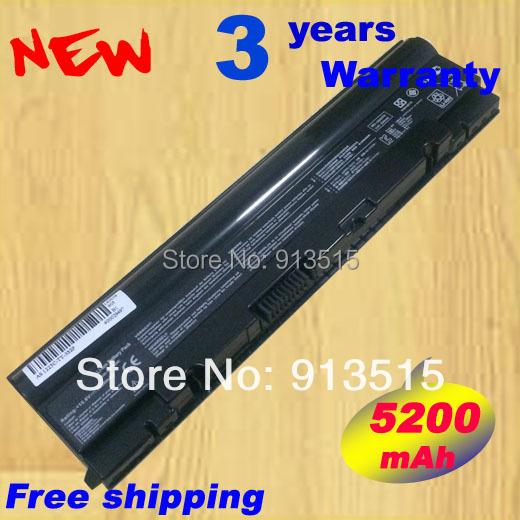 For Asus Laptop battery For ASUS A31-1025 A32-1025 for Eee PC 1025 EPC 1025C 1225B 1225C R052 R052CE , black 6cells