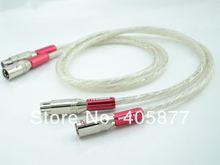 Двойной Серебристый Аудио видео кабель 15 м xlr с штепсельным