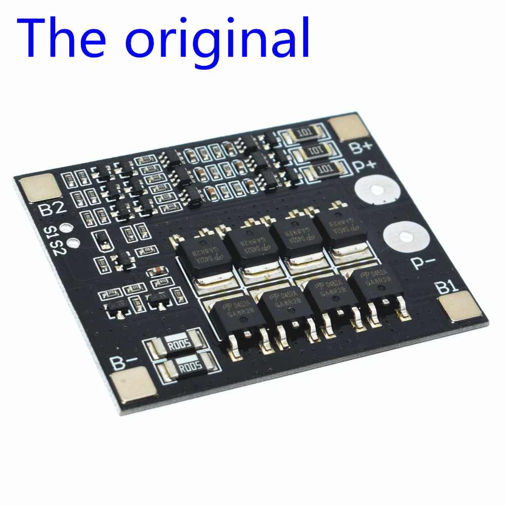 Оригинальный 3 S 25A Li-Ion 18650 BMS батарея PCM Защитная плата BMS PCM с балансом для Li-Ion плата защиты литий-полимерных аккумуляторов Пакет модуль