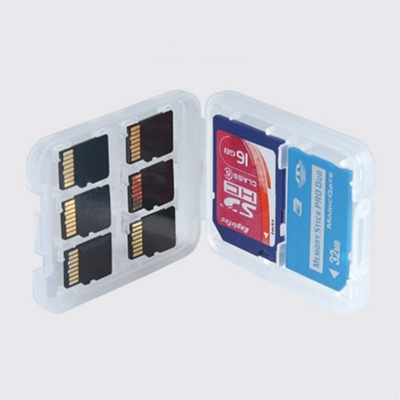 Tarjeta SD de memoria de aluminio de protección Premium funda de transporte con nuevas Personalizable