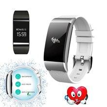 A66 Смарт Браслет Спорт Браслет крови кислородом часы Давление фитнес трекер сердечного ритма Мониторы браслет для Android IOS Телефон