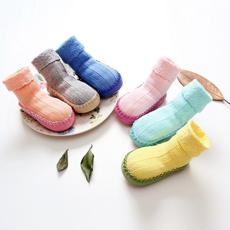 baby foot sock newborn anklets boys socks shoes girl infant stuff clothes Anti-skid socks for children soft sole Spring autumn