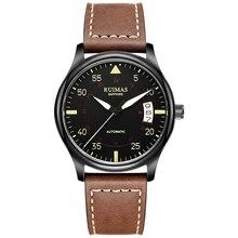 цена на RUIMAS Movt MIYOTA 8215 Men Watch Fashion Multifunction Automatic Luminous Sapphire Mechanical Man Wrist Watches Reloj Hombre