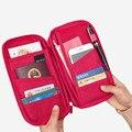 Capa de Passaporte Da lona Carteiras Titulares de Cartão de Crédito das Mulheres Dos Homens Saco de Viagem de Embarque Organizador Acessórios Fornece Produtos