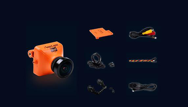 ФОТО RUNCAM OWL PLUS DC5-22V 150 Degrees wide angle 700TVL FPV aerial photography camera suitable for FPV aircraft