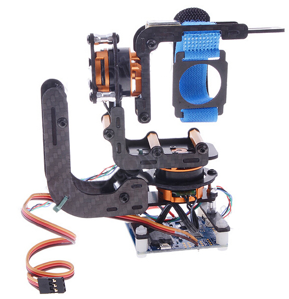 Phantom 2-Axis Brushless Gimbal Camera Mount with Control Board + Motor for Gopro Hero 3 Dedicated Plug and Play SKU:11818