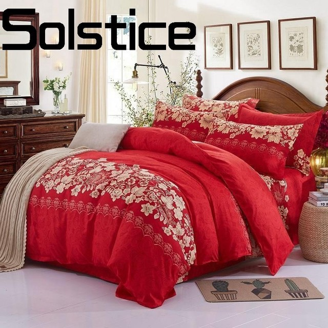 Solstice Home Textile Sleek minimalist luxury Plaid thickened bedsheets Quilt cover Pillowcase Bedding 3/4pcs