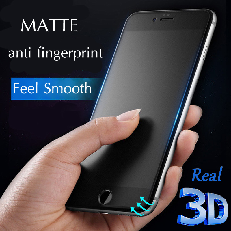sale retailer 16902 9af99 YKSPACE Best 9H 4D 3D Curved Full Cover Matte Tempered Glass Screen ...