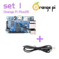 Orange Pi Plus 2E SET1: Orange Pi Plus 2E+ USB to DC 4.0MM - 1.7MM Power Cable Beyond Raspberry