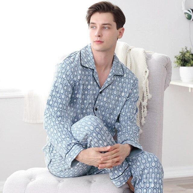 2016 winter mens silk satin pajamas set pajama pyjamas set sleepwear loungewearlxxlplus and tall