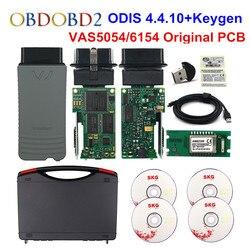 Original VAS5054 OKI Keygen VAS5054A Bluetooth AMB2300 ODIS V4.4.10 For VW/AUDI/SKODA/SEAT VAS 5054A VAS6154 WIFI UDS For VAG
