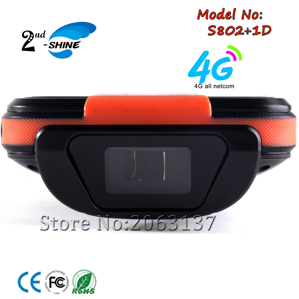 Honeywell 1D Scanner Reader for Android 5.1 OS S802 Have WIFI GPS USB BT 4G and 2G ROM 4G RAM