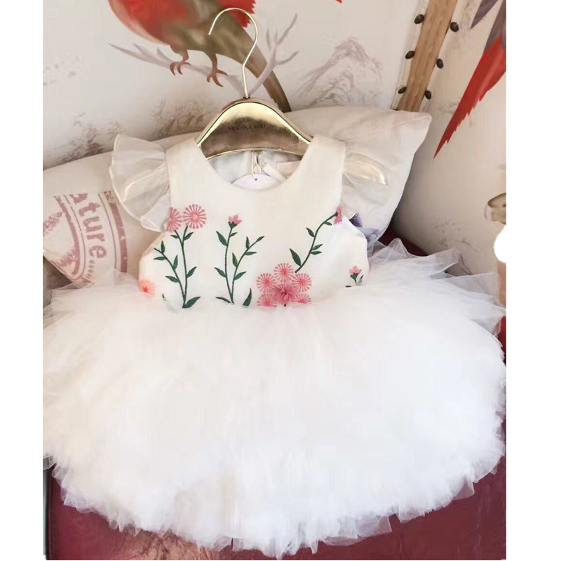 Girls Princess Dress High Quality Fashion Summer Baby Girls Party Dress Boutique Toddler Baby Girls Dresses Kids Summer Clothes fashion kids girls toddler baby lace princess party dress clothes 2 7y