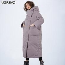 d747d18a0b4 Брендовая новая зимняя коллекция куртки 2018 стильные ветрозащитные женские  пальто 2018 женские стеганые пальто куртки Длинные