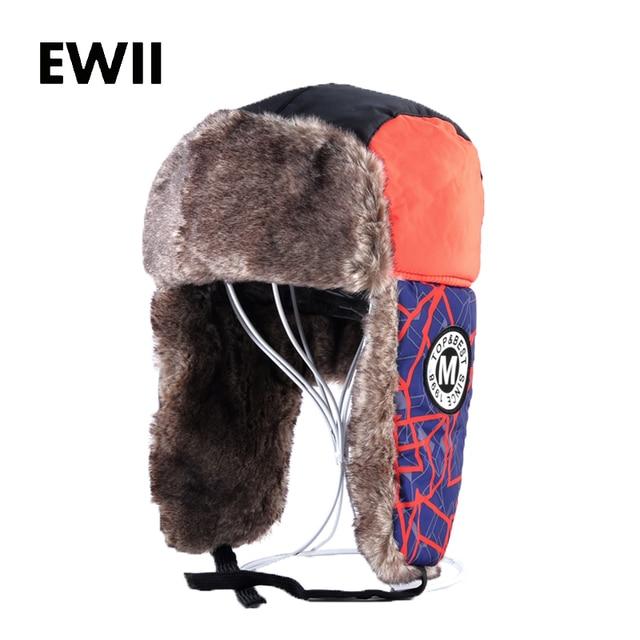 6dc7347e90c Russian cap men winter faux fur earflap hats for women bomber hat ushanka gorra  hombre men fashion warm caps tuque homme
