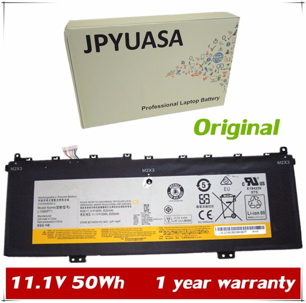 JPYUASA Laptop Battery Yoga Lenovo For Ideapad 2/13-series/Tablet/L13s6p71 31CP469/81-2