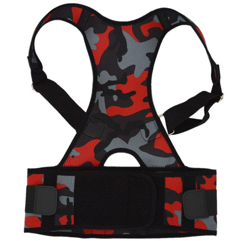2018 Shoulder Back Lumbar Spine Support Belt Men Women Braces & Supports Belt Shoulder Posture Neoprene Posture Corrector Corset