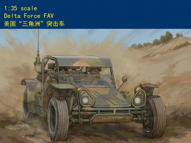 цена на Hobbyboss 1/35 82406 Delta Force FAV