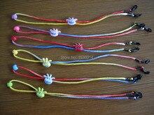 colorful cartoon character adjustable kids eyeglass frame silk cords children eyewear Neck Strap Rope eyglass holder