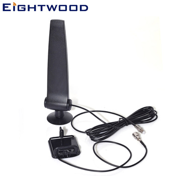 Eightwood GSM CDMA 3G 4G LTE Cellphone Signal Booster Amplifier Phone Holder with Aerial 4g Antenna 120cm RG174 FME Connector