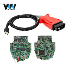 For JLR 3 in 1 SDD V145 for Volvo vida 2014d For toyota V10.10.018 TIS techstream 3IN1 diagnostic cable better than MINIVCI(China)